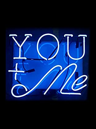 Oliver Gal You And Me Neon Sign, Multi