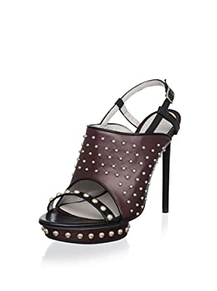 Jason Wu Women's Marlene Platform Slingback Sandal (Burgundy/Black)