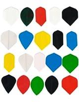 20 sets dart flights Assorted size slim, wide, kite, tear drop, vortex etc. wholesale price INCLUDES