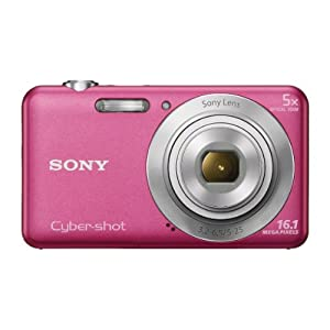 Sony Cyber-shot DSC-W710 16.1MP Point-and-Shoot Digital Camera (Pink) with Camera Case