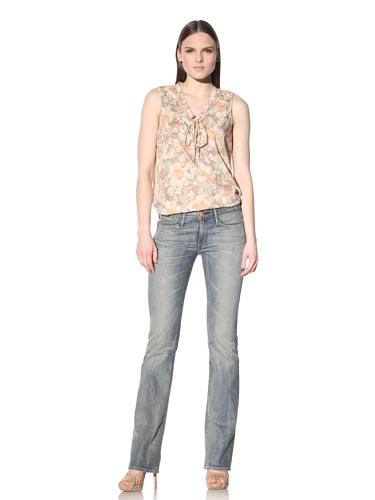 Earnest Sewn Women's Keaton Slight Boot Cut Jean (Brooke)