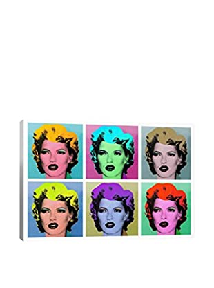 Banksy Kate Moss Gallery Wrapped Canvas Print