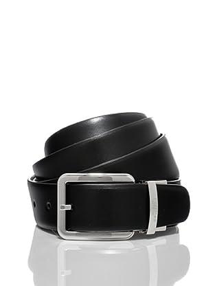 Versace Collection Cinturón Amico (Negro / Marrón)