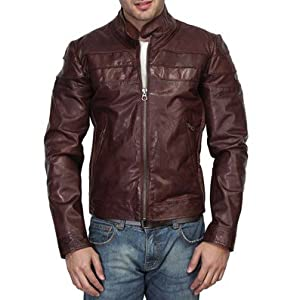 Bareskin Brown Leather Jacket