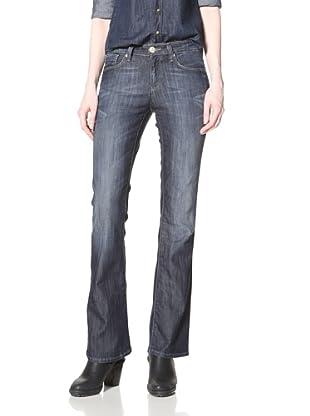 Mavi Women's Molly Boot Cut Jean (Dark Dominique)