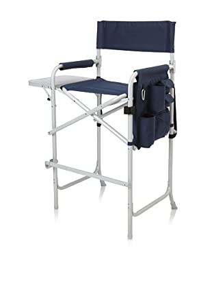 Picnic Time Celebrity Portable Tall Director Chair (Navy)