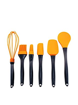 BergHOFF Geminis 6-Piece Silicone Utensil Set (Orange)