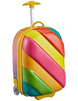 Sunbaby Candy Design Synthetic 41 cms Multi Children's Luggage (SB-1022_Multi-Colour)