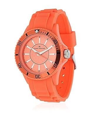 TOM TAILOR Quarzuhr 5407908 orange 42 mm
