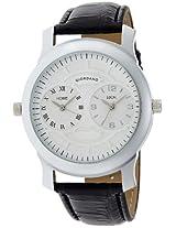 Giordano Analog White Dial Men's Watch - 60062 (P10500)