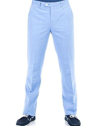 Cortefiel Pantalón Oxford (Azul)