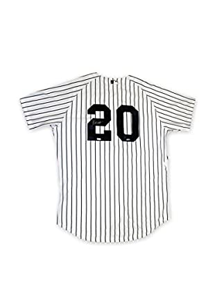 Steiner Sports Memorabilia Jorge Posada Autographed New York Yankees Authentic Home Jersey