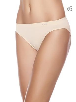 Unno Pack x 6 Braguitas Bikini (Arena)