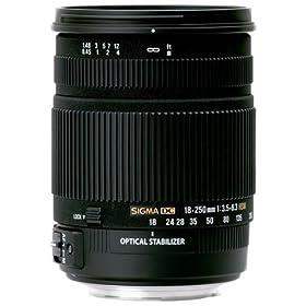 【クリックで詳細表示】Amazon.co.jp|シグマ 18-250mm F3.5-6.3 DC OS HSM NA ニコン用|カメラ・ビデオ通販