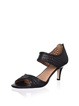 Corso Como Women's Carnaby Perforated Sandal (Black)