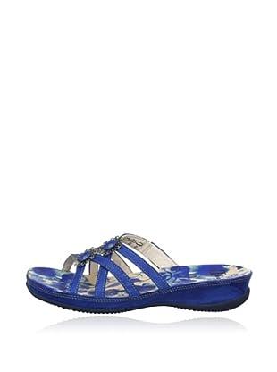 Think Pantolette Zenzi (Blau)