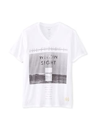 Kinetix Men's Within Sight V-Neck T-Shirt (White)