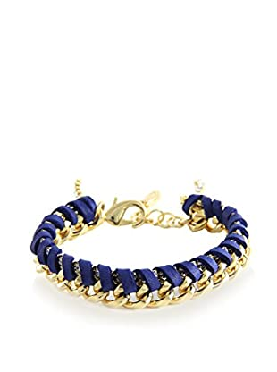 Ettika Cobalt & 18K Gold-Plated Royal Voyage Bracelet