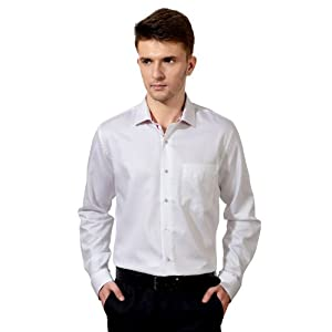 Formal Slim Fit Solid Full Sleeved Shirt