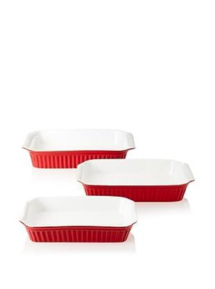 Reco Römertopf Rectangular Baker Set (Red)