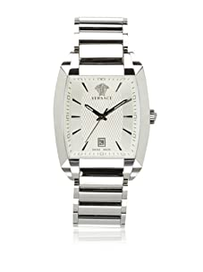 Versace Men's Tonneau Stainless Steel Bracelet Watch