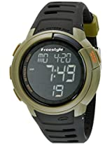 Freestyle Freestyle Unisex 10019178 Mariner Digital Display Japanese Quartz Black Watch - 10019178