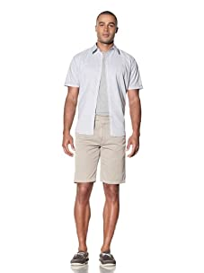 EQ Men's Cotton Twill Plain Front Short (Tan)