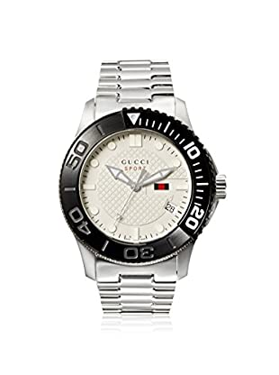 Gucci Men's YA126250 G Timeless Stainless Steel Watch