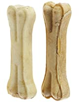 Choostix Pressed Dog Bone, Small  (5-inch x 2 Pieces)