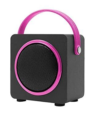 ZZ-UNOTEC Altavoz Bluetooth Njoy Rosa