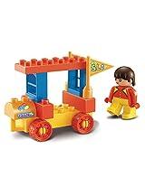 Sluban M38-B6021 Lego Amusement Park Brick Toy, Multi Colour