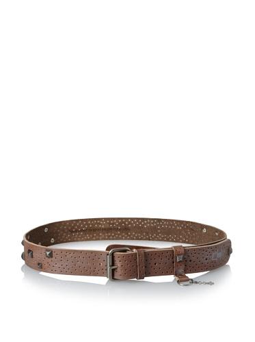 +Beryll Men's Artisan Belt (Brown/Silver)