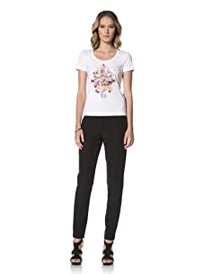 Escada Sport Women's Esebia Short Sleeve Tee (White)