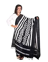 Pochampally Ikat Cotton Handloom Dupatta