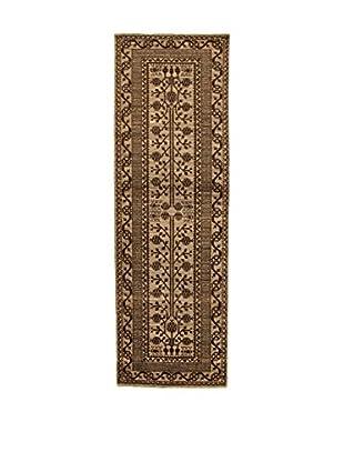 Design Community By Loomier Teppich Bamiyan braun 96 x 300 cm