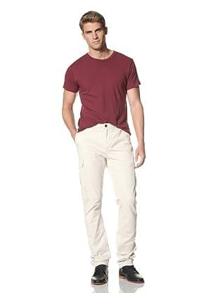 Scotch & Soda Men's Lebon Chino-Cargo Pants (Chalk White)