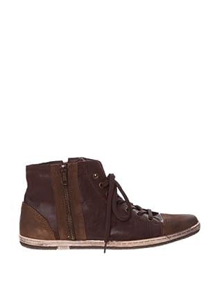 Springfield Botin Piel (marrón oscuro)