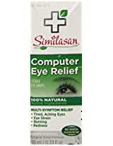 Similasan Computer Eye Relief Eye Drops, 0.33 Fluid Ounce