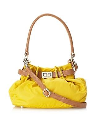 co-lab by Christopher Kon Women's Tori Mini Nylon Shoulder Bag with Cross-Body (Yellow)