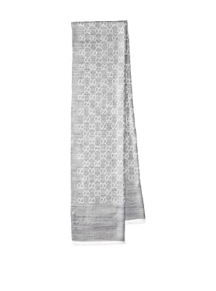 Gucci Women's Jacquard Scarf, Grey