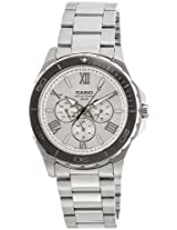 Casio Enticer Silver Dial Men's Watch - MTD-1075D-7AVDF (A790)