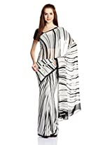 Satya Paul Gorgette Saree