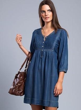 Cortefiel Vestido (Azul)