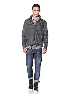 Antony Morato Men's Zip-Up Jacket (Dark Grey)