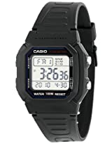 "Casio Men's W800H-1AV ""Classic"" Sport Watch with Black Band"