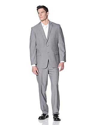 Calvin Klein Men's Malik Stripe Suit (Grey)