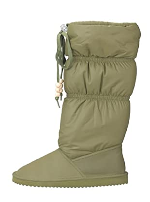 flip*flop snowdrifter 30270 - Botas de nailon para mujer (Verde)