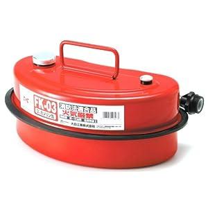 【クリックでお店のこの商品のページへ】Amazon | Meltec ( メルテック ) ガソリン携行缶 3L FK-03 | 燃料・オイル用ツール | 車&バイク