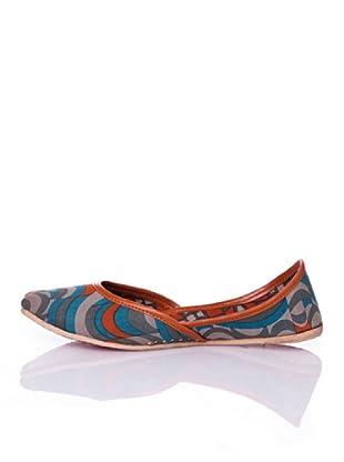 Sigris Zapato Ondas (Naranja)
