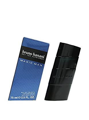 Bruno Banani Eau de Toilette Herren Magic Man 75.0 ml, Preis/100 ml: 23.98 EUR